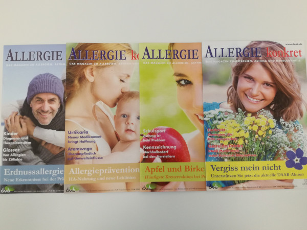 Allergie konkret Jahrgang 2014
