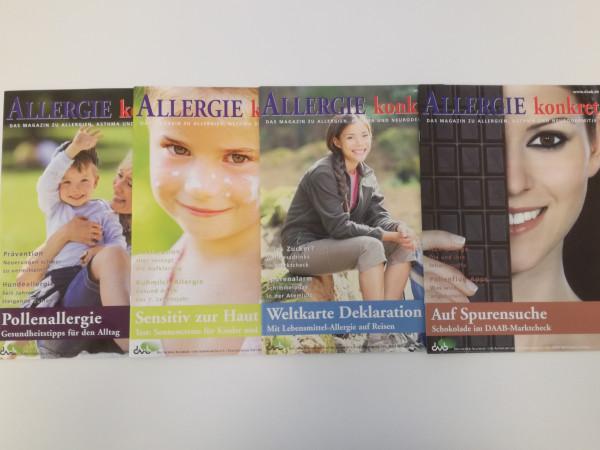Allergie konkret Jahrgang 2012