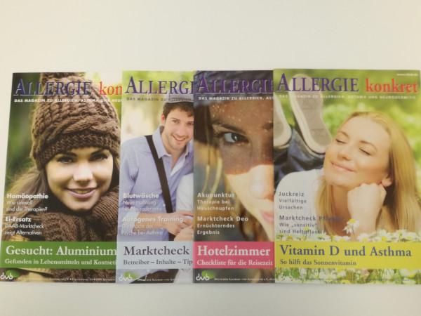 Allergie konkret Jahrgang 2013