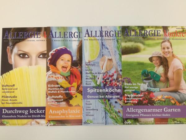 Allergie konkret Jahrgang 2017