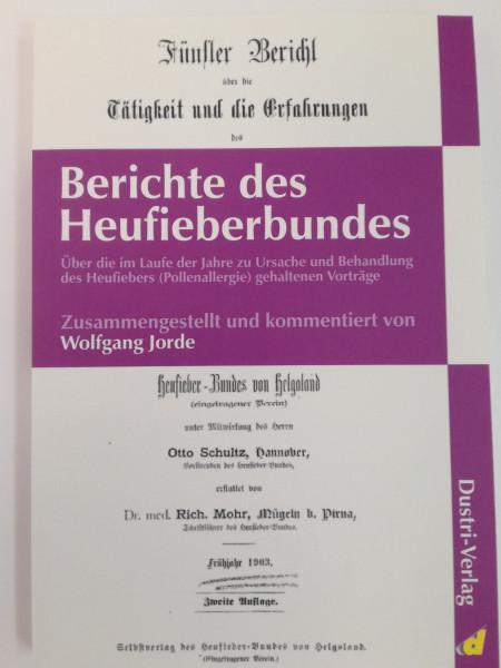 Bericht des Heufieberbundes